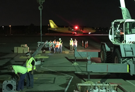 IAH Terminal C Light Pole Replacement