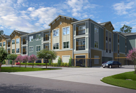 Wallisville Apartments – Street View